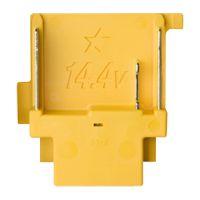14,4 V accu aansluiting - geel, met ster
