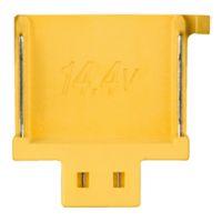14,4 V accu aansluiting - geel, zonder ster