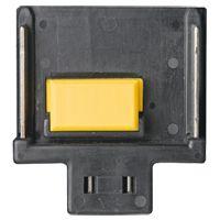 14,4 V accu aansluiting - zwart, met gele chip connector